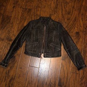 Women's GAP Limited Edition Leather Jacket